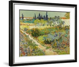 Garden at Arles by Vincent van Gogh