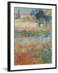 Garden in Bloom, Arles, c.1888 by Vincent van Gogh