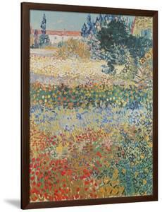 Garden in Bloom Arles, c.1888 by Vincent van Gogh