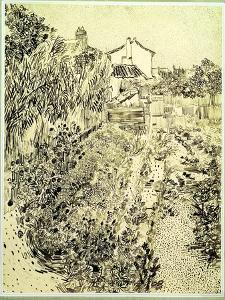 Garden of Flowers, 1888 by Vincent van Gogh