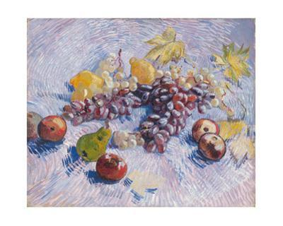 Grapes, Lemons, Pears, and Apples, 1887. by Vincent van Gogh