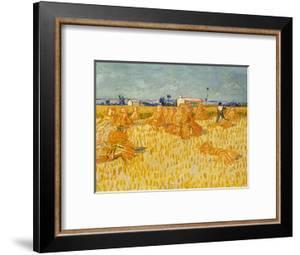 Harvest. Oil on canvas. by VINCENT VAN GOGH