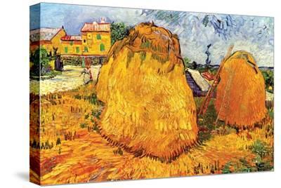 Haystacks in Provence, 1888