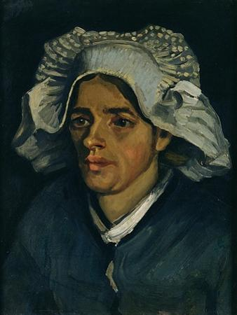 Head of a Peasant Woman, 1885 by Vincent van Gogh