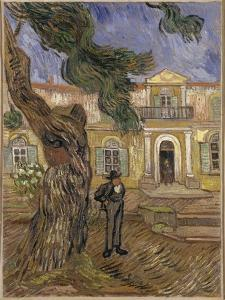 Hôpital Saint-Paul à Saint-Rémy-de-Provence by Vincent van Gogh