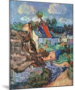 Houses at Auvers, c.1890 by Vincent van Gogh