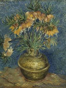 Imperial Fritillaries in a Copper Vase, 1887 by Vincent van Gogh