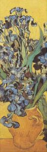 Iris Detail by Vincent van Gogh