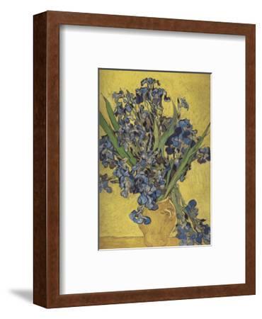 Irises in Vase