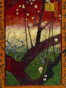 Japonaiserie: Flowering Plum Orchard (after Hiroshige), Paris, 1887 by Vincent van Gogh