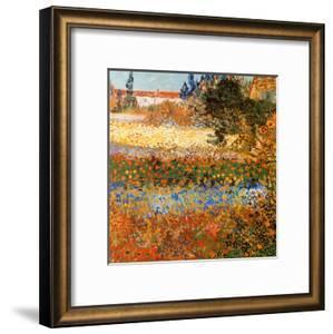 Jardin Fleuri A Arles by Vincent van Gogh