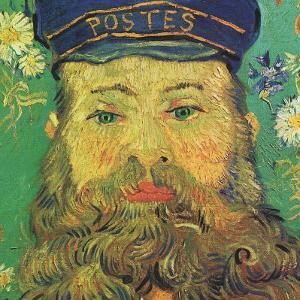 Joseph Roulin (detail) by Vincent van Gogh