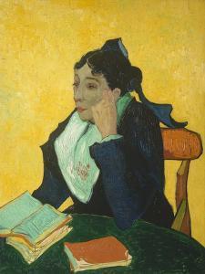 L'Arlesienne (Madame Ginoux) 1888 by Vincent van Gogh