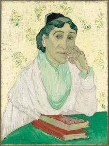 L'Arlésienne, Madame Ginoux, 1890 by Vincent Van Gogh