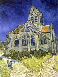 L'Eglise d'Auvers-sur-Oise by Vincent van Gogh