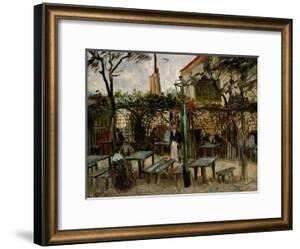 La Guinguette in Montmartre, c.1886 by Vincent van Gogh