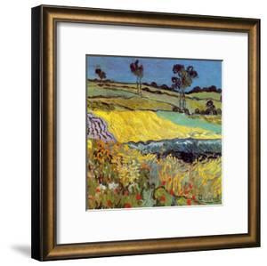 La Plaine D'Auvers by Vincent van Gogh