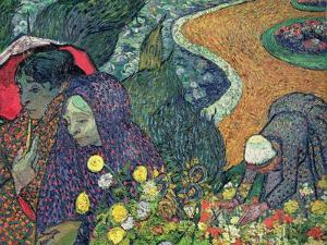 Ladies of Arles (Memories of the Garden at Etten), c.1888 by Vincent van Gogh