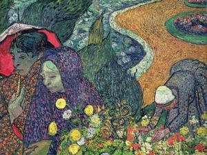 Ladies of Arles (Memories of the Garden at Etten), c.1888 by Vincent van Gogh