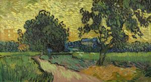 Landscape at Twilight, 1890 by Vincent van Gogh