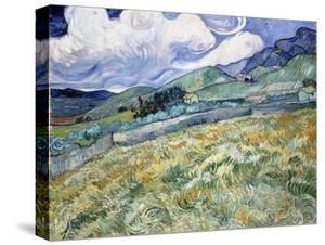 Landscape from Saint-Rémy by Vincent van Gogh