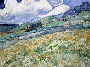 Landscape from Saint-Rémy by Vincent van Gogh