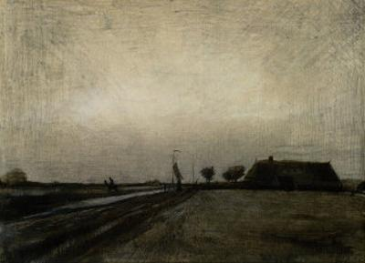 Landscape in Drenthe by Vincent van Gogh