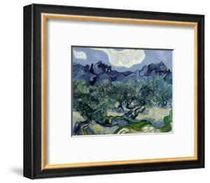 Landscape with Olive Trees by Vincent van Gogh
