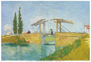Langlois Bridge in Arles, France by Vincent van Gogh