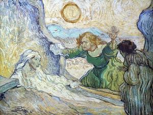 Lazarus by Vincent van Gogh
