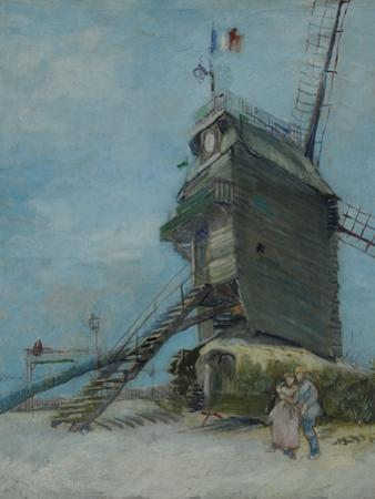Le Moulin De La Galette, 1886 by Vincent van Gogh