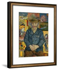 Le Pere Tanguy, c.1887 by Vincent van Gogh