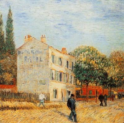 Le Restaurant Rispal A Asniere by Vincent van Gogh