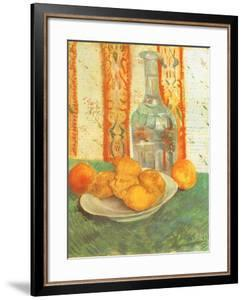 Lemons and Decanter, 1887 by Vincent van Gogh
