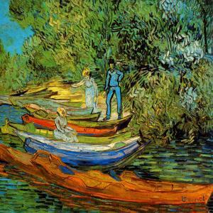Les Bords De L'Oise A Auvers by Vincent van Gogh