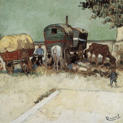 Les Roulottes, Campement De Bohémiens