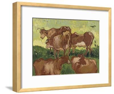 Les vaches, d'après Jacob Jordaens et Van Ryssel