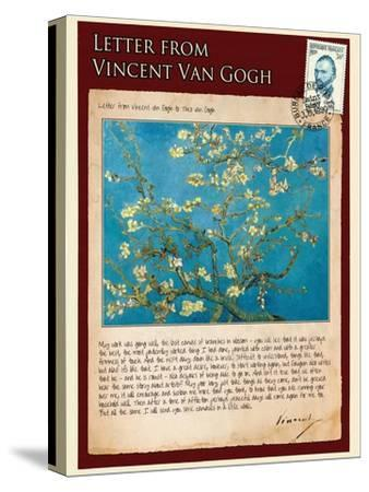 Letter from Vincent: Almond Blossom, C1890