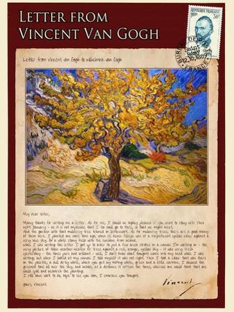 Letter from Vincent: The Mulberry Tree