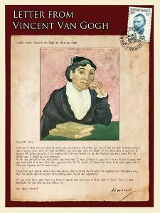 Letter from Vincent: The Portrait of the Arle´Sienne by Vincent van Gogh