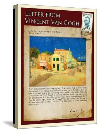 Letter from Vincent: The Yellow House