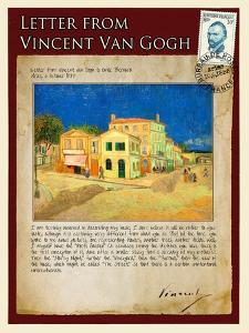 Letter from Vincent: The Yellow House by Vincent van Gogh