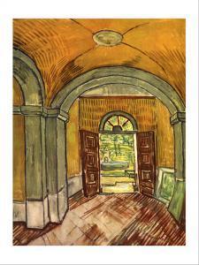 Lobby in the Asylum by Vincent van Gogh