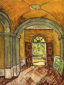 Lobby in the Asylum by Vincent van Gogh