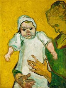 Madame Roulin and Her baby, November 1888 by Vincent van Gogh