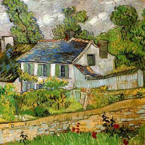 Maison a Auvers by Vincent van Gogh