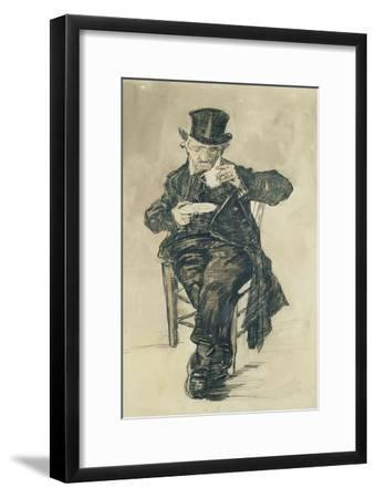 Man with a Top Hat Drinking a Cup of Coffee, 1882