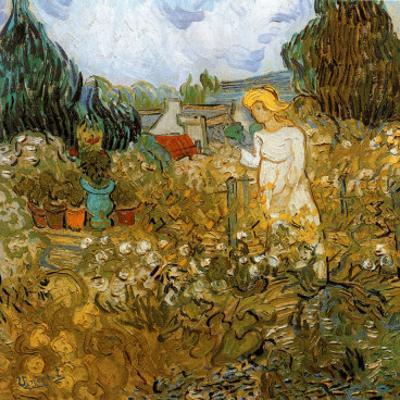 Marguerite Gachet Dans Son Jardin