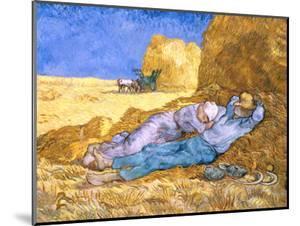 Midday Rest (after Millet), c.1890 by Vincent van Gogh