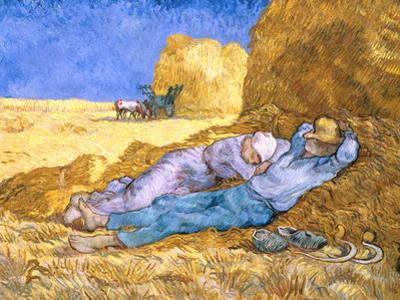 Midday Rest (after Millet), c.1890 by Vincent van Gogh